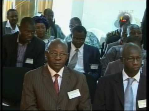 Regional Training Workshop on competition laws, Lome (Togo).flv