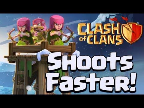 ARCHER TOWERS SHOOT FASTER?! - Clash of Clans Update - Sneak Peek #3