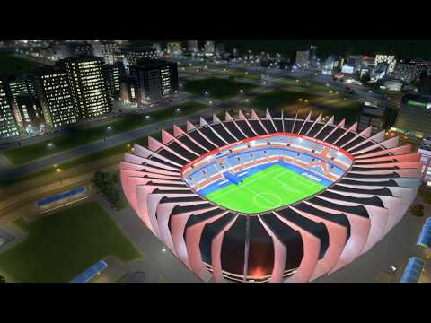 Cities: Skylines - Mass Transit - Moscow - Football (2017 FIFA Confederations Cup)
