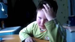 Мальчик учит ОЧЕНЬ сложный стих(Ласточка)