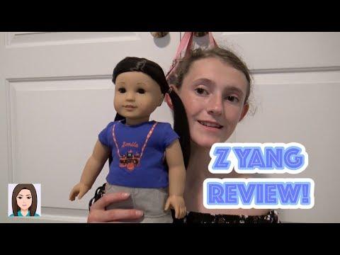 American Girl Z Yang Review!