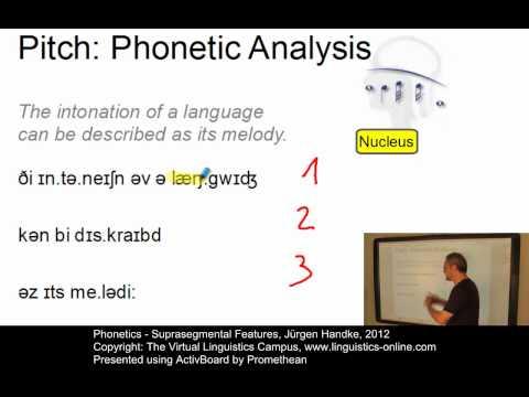 PHO108 - Suprasegmental Features