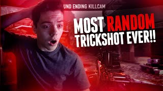 MOST RANDOM TRICKSHOT EVER!! (AW) Thumbnail