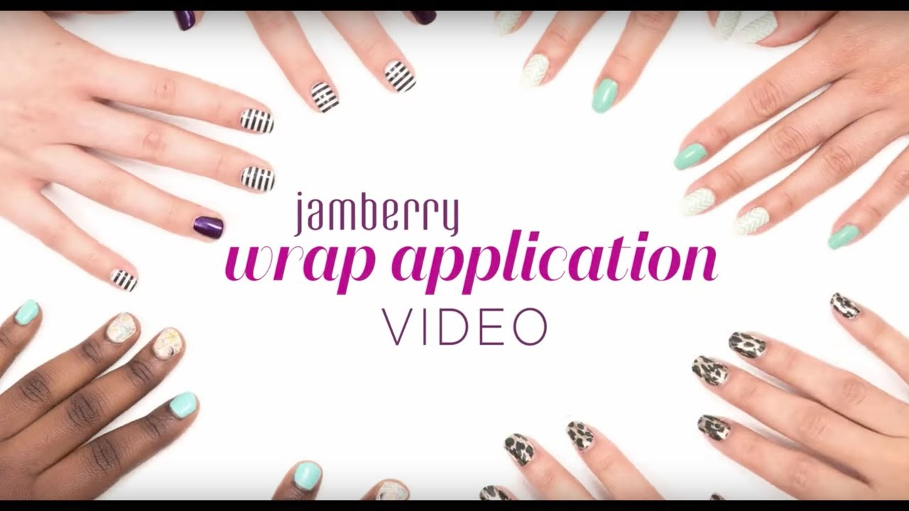 Jamberry | Official Wrap Application Video - YouTube
