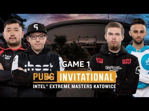 IEM PUBG Invitational Katowice 2018 Game 1