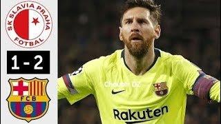 Slavia praha vs barcelona 1-2 uefa champions league 23/10/2019