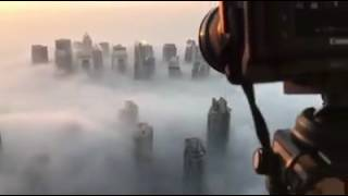 Early Morning Fog Covers Dubai Over 100 Flights Delayed