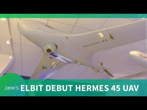 Paris Air Show 2019: Elbit Systems debut their latest HERMES 45 UAV