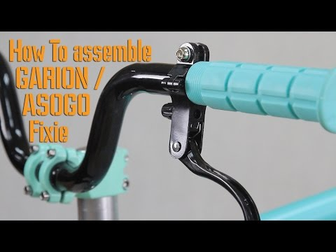 How to Assemble Garion or Asogo Fixed Gear Bike / Fixie