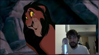 Scar Confesses - Jeremy Irons Impression (Lion King Voice Over)