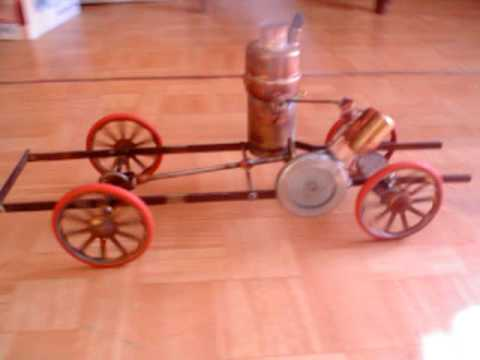 Homemade Steam Engine