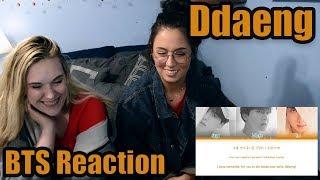 """BTS """"Ddaeng"""" Reaction"""