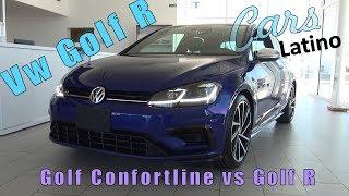 Vw Golf Confortline vs Vw Golf R *CarsLatino*