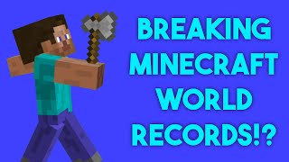 Breaking a Minecraft World Record?! - HavingFunLive - Episode 1
