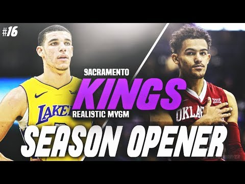 TRAE YOUNG DOMINATES LONZO BAL trae young