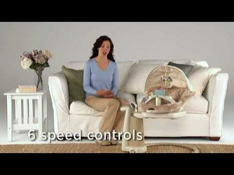 Graco sweetpeace working open. See how it works! - YouTube