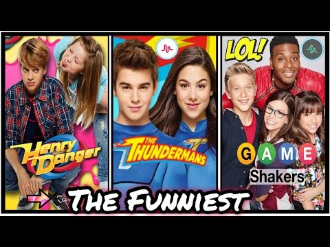 The Funniest Nickelodeon Stars Musical.ly | Henry Danger , Game Shakers, Thundermans Funny Musically