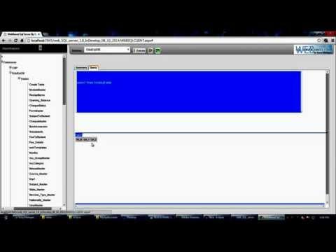 WEB Sql Server Demo