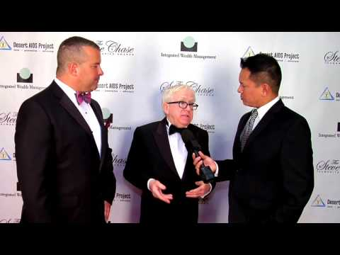 Leslie Jordan and Dave Morgan