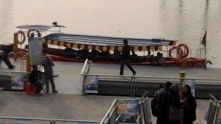 হাতিরঝিলে ওয়াটার বাস ভ্রমন ১ - হাতির ঝিল - Hatirjheel Water Bus (Boat) Ride 1 - Begast Setu