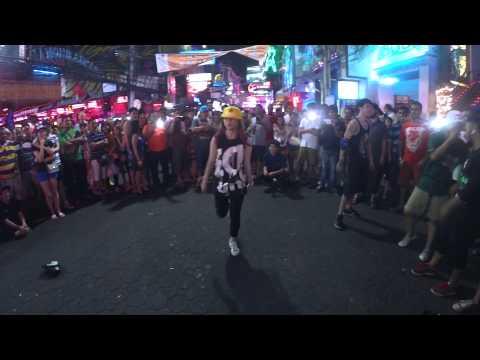 Lykio (M4N) dance at Thailand ( walking street )