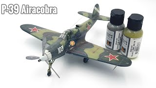 Eduard 1/48 P-39 Airacobra scale aircraft model kit build