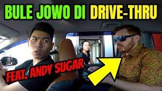 BULE JOWO PRANK DRIVE THRU PAKAI BAHASA JAWA FEAT Andy Sugar