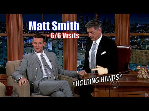 Matt Smith Aka The Doctor - Is Good Friends With Craig - 6/6 Visits In Chronological Order [720p] en streaming