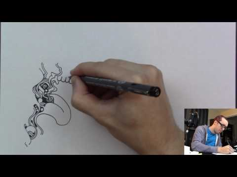 Drawing with Peter Draws: a Drawing (Realtime Doodle)