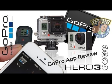 GoPro Hero 3 : SmartPhone/Tablet App - Setup & Review