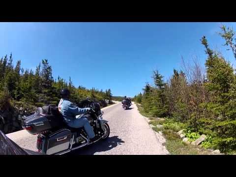 Motorcycle Ride Up Mt Washington