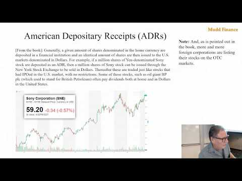 Econ 104 Stock Fundamentals Part 2 Sept 16, 2019