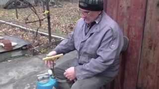 Опрыскивание 5% раствором, железным купоросом. Готовим сад,  виноград к зиме(Железный купорос от различных грибковых заболеваний. 5% раствор железного купороса в воде., 2015-11-21T16:50:00.000Z)