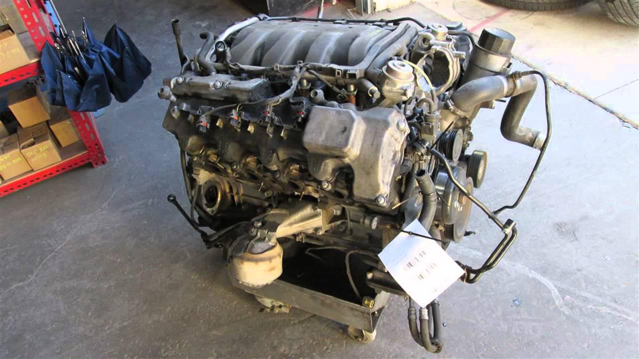 2003 Mercedes E500 Engine Motor LONG BLOCK RUNS /DRIVES ...