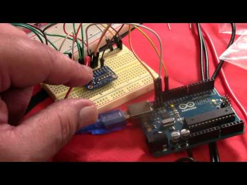 ADS1115 16 bit ADC with PGA test and measurement - YouTube