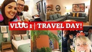 WALT DISNEY WORLD & UNIVERSAL 2018 VLOG 1 | Travelling to Orlando and Encantada Villa Tour!