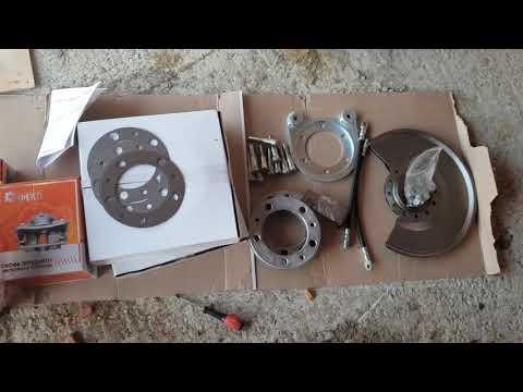 Замена барабаных тормозов на дисковые УАЗ 469