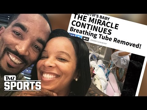 J.R. Smith's Baby: The Miracle Continues! | TMZ Sports