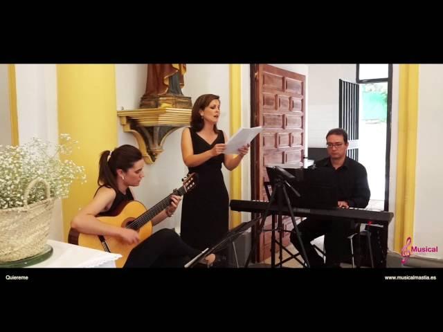 Quiereme Nuria Fergó Musica Bodas Murcia ermita de la alberca flamenco