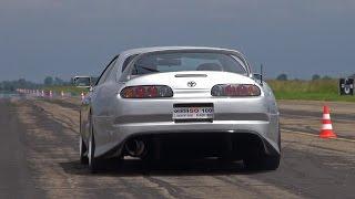 900HP Toyota Supra Turbo SRD900 - BRUTAL ACCELERATIONS!!