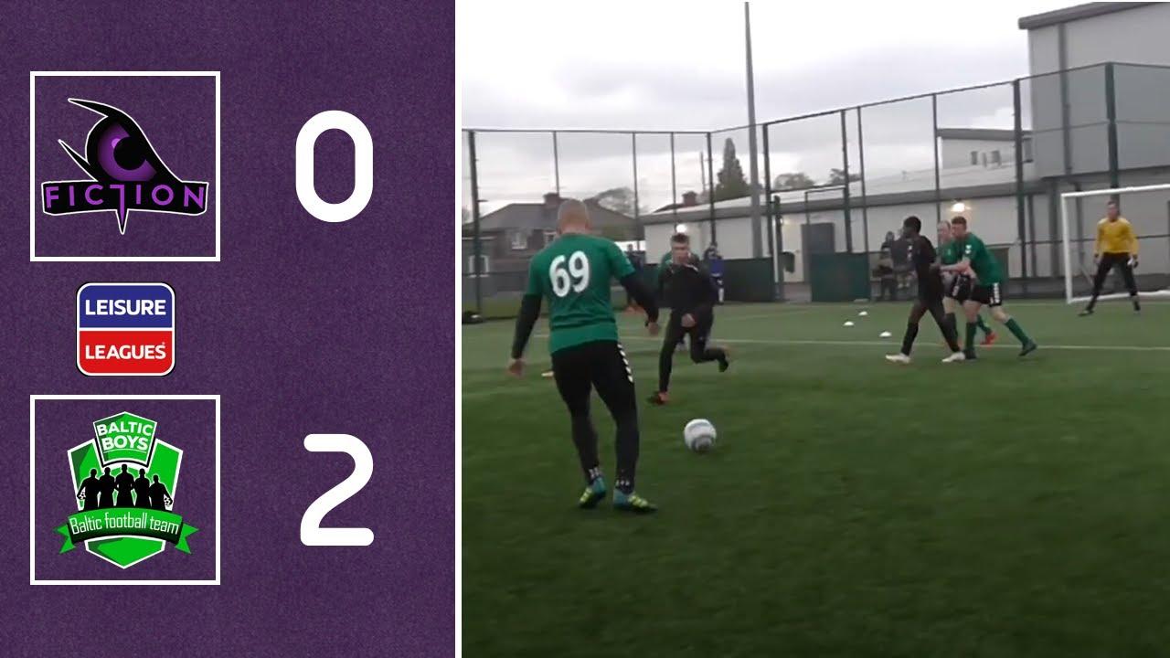 HIGHLIGHTS | Fiction 0 - 2 Baltic Boys | Baltic end Fiction title hopes  | Leisure Premier League