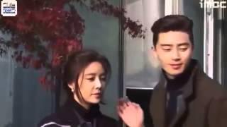 HẬU TRƯỜNG CẢNH NÓNG TRONG PHIM CÔ NÀNG XINH ĐẸP PARK SEO JOON & HWANG JUNG EUM BTS