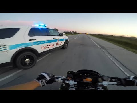 BIKERS VS COPS - Motorcycle Police Chase Compilation #15 - FNF
