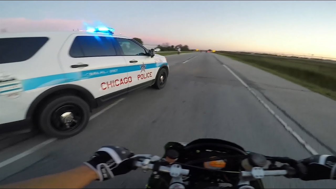 Download BIKERS VS COPS - Motorcycle Police Chase Compilation #15 - FNF