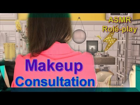 (( ASMR)) Role-play : Makeup Consultant (For Begginers)