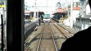 【京阪】目の前に電車が!枚方公園手前で立ち往生&指令と交信の様子 thumbnail