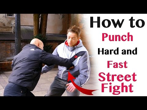 How to punch hard and fast | street fight
