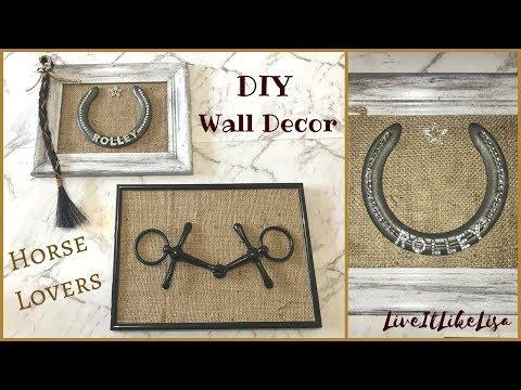 TEEN GIRL BEDROOM SERIES | DIY Wall Decor | Horse Lovers