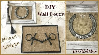 TEEN GIRL BEDROOM SERIES | DIY Wall Decor | Horse Lovers