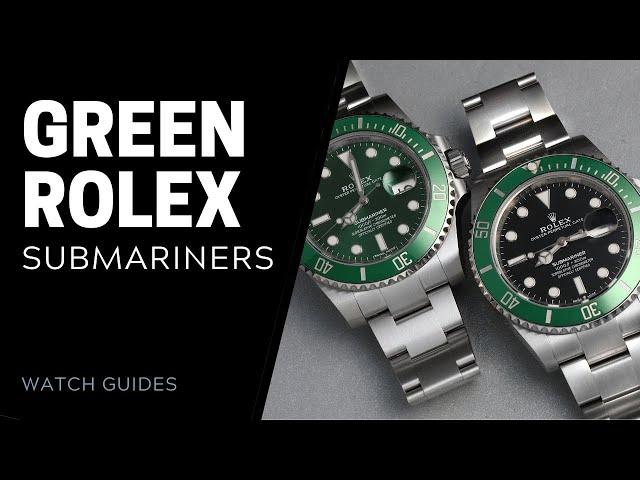 Green Rolex Submariner: Kermit, Hulk and Kermit II | SwissWatchExpo